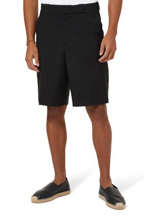 Double Cotton Bermuda Shorts