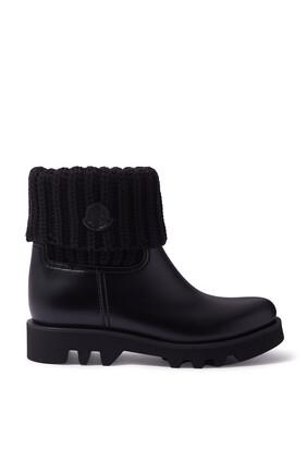 Ginette Knit Rain Boot