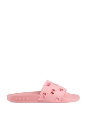 W PURSUIT PERFORATED GG RUBBER:Pink :35