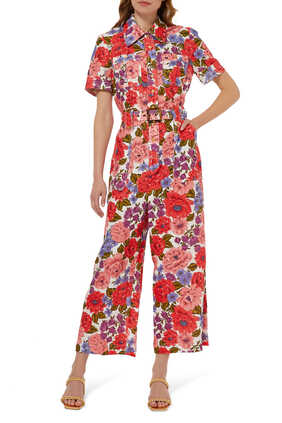 Poppy Belted Jumpsuit