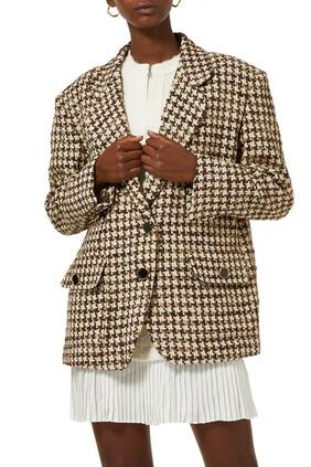Tweed Suit Blazer