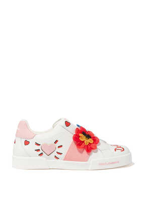 Blooming Portofino Leather Sneakers