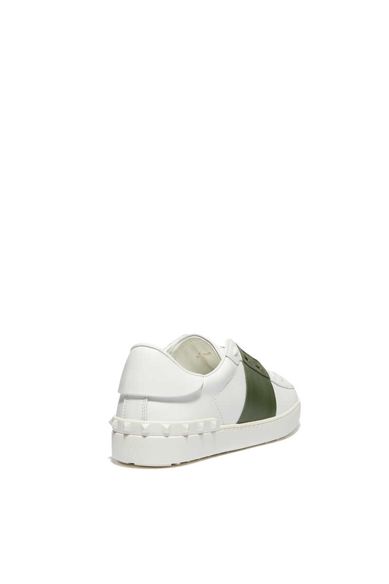 Valentino Garavani Open Leather Sneakers image number 3