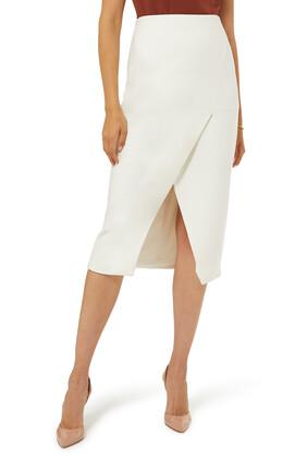 Tapered Midi Skirt