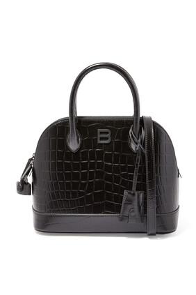 Ville Croc-Embossed Bag