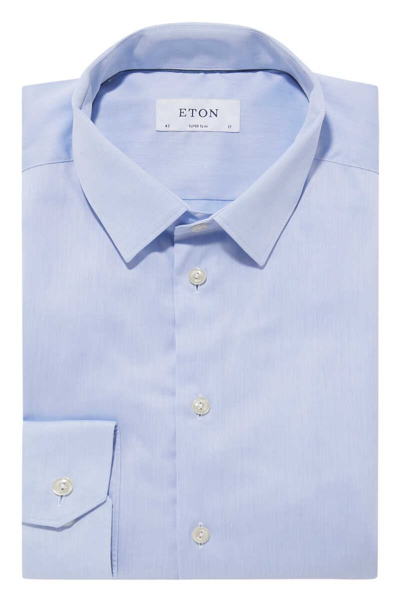 Super Slim Fit Signature Twill Shirt image number 1