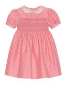 GG Cotton Jacquard Smock Dress