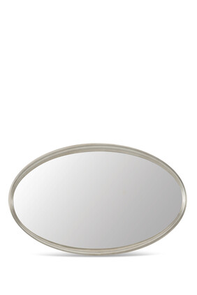 Compact Oval Mirror