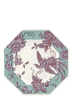 Kingsley White Octagonal Plate set of 4
