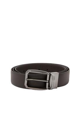 Square Leather Belt