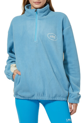 Half Zip Fleece Pullover