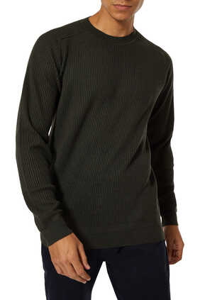 Wool And Silk Knit Pullover