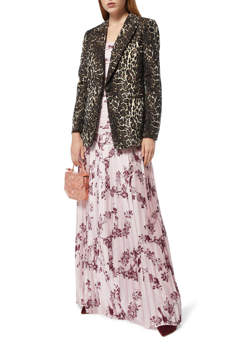Belle Floral-Print Gown image number 2