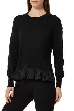 Peplum Sweater Top