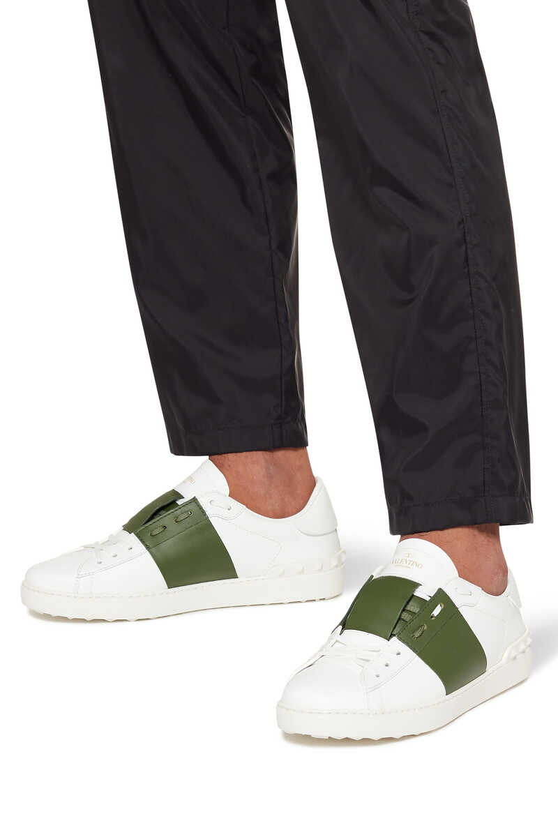 Valentino Garavani Open Leather Sneakers image number 2