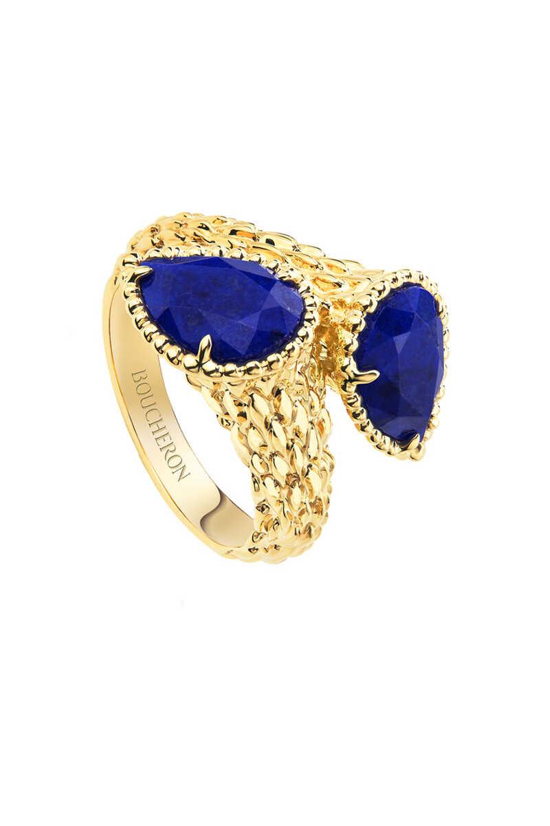 Toi Et Moi Serpent Bohème Lapis Lazuli Ring image number 1