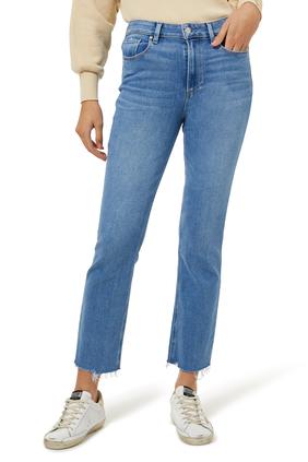Music Distressed Denim Jeans