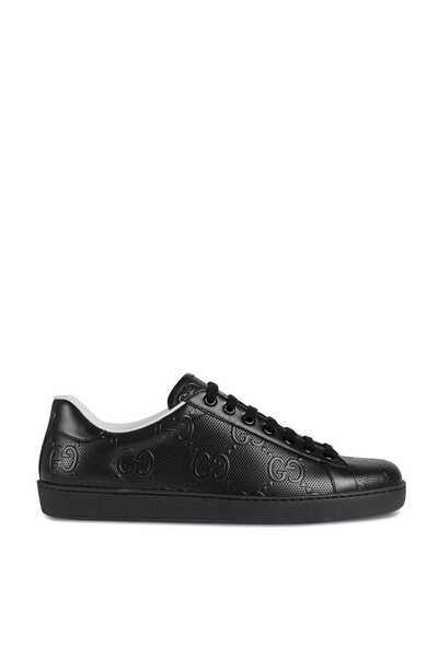 Ace GG Embossed Sneakers