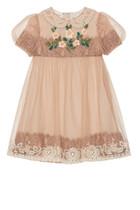 Silk Organza Lace Dress