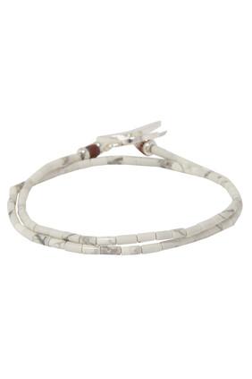 Howlite Beads Bracelet
