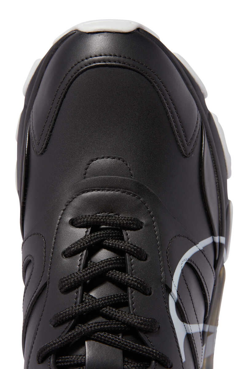 Valentino Garavani V-logo Bounce Sneakers image number 4
