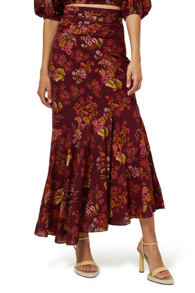 Renaissance Ruched Skirt