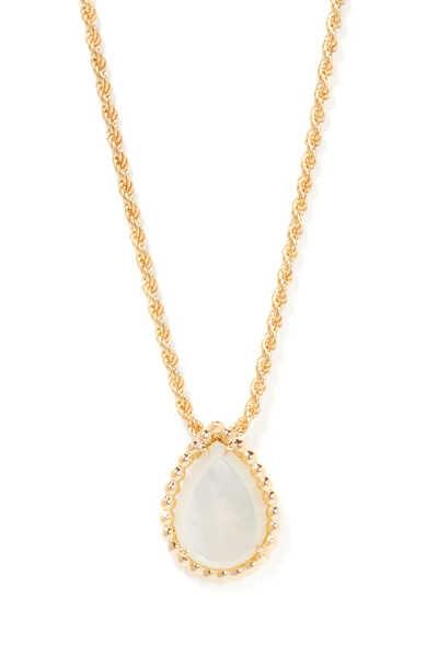Serpent Bohème Mother Of Pearl Pendant Necklace