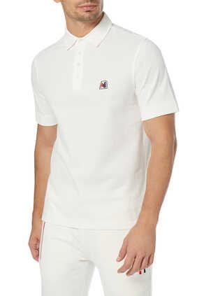 Rubber Logo Polo T-Shirt