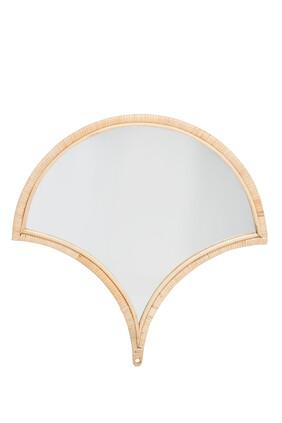 Rattan Framed Mirror
