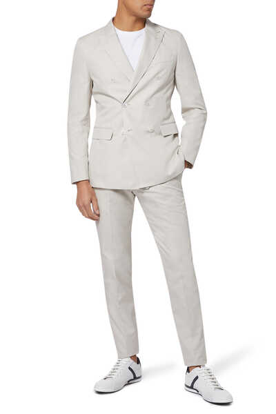 Double-breasted Slim-fit Suit