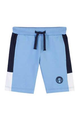 Cotton Logo Shorts