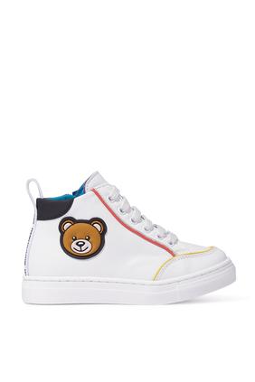 High Top Teddy Bear Sneakers