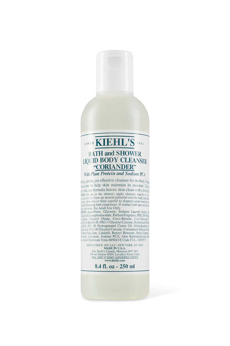 Coriander Scented Bath And Shower Liquid Body Cleanser image number 1