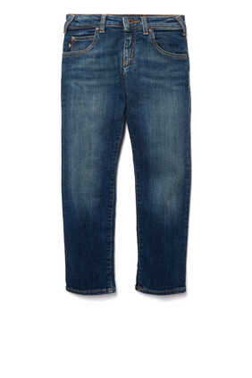 Medium Wash Denim Jeans