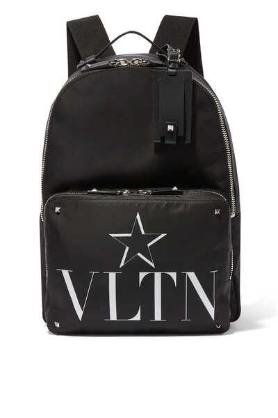 Valentino Garavani VLTN STAR Nylon Backpack