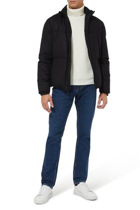 Cozy Wool Down Puffer Jacket