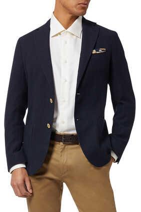 Contemporary Fit Herringbone Shirt
