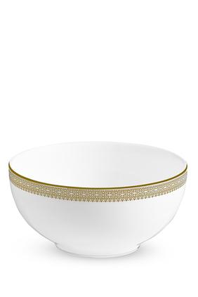 Vera Wang Lace Gold Cereal Bowl