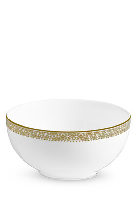 Vera Wang Lace Gold Cereal Bowl