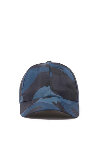 Valentino Garavani Camouflage Nylon Baseball Cap