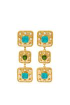 Gaia Turquoise Earrings