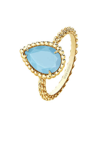 Serpent Bohème Turquoise Small Ring
