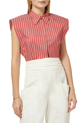 Enza Striped Shirt