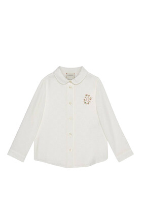 Embroidery Cotton Shirt