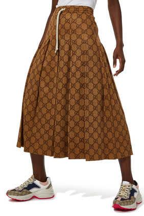 Technical Jersey Skirt