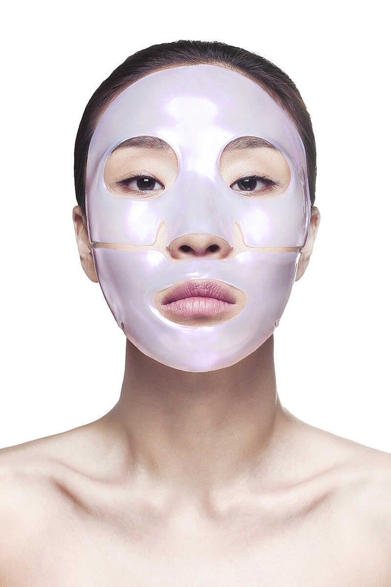 Diamond Radiance Collagen Face Mask (4 Treatments) image number 3
