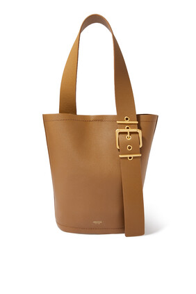 Ember Large Leather Bucket Bag