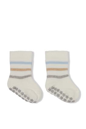 Multi Stripe Baby Socks