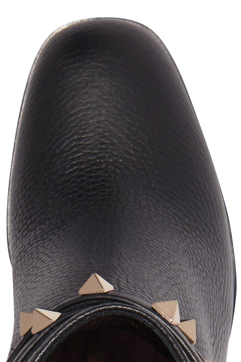 Valentino Garavani Rockstud Leather Boots image number 4