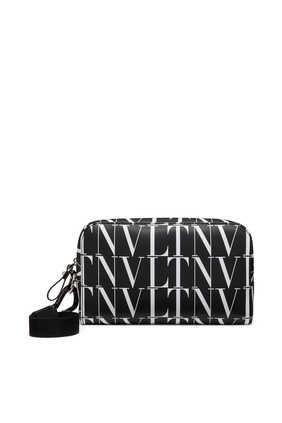 Valentino Garavani VLTN Times Leather Washbag